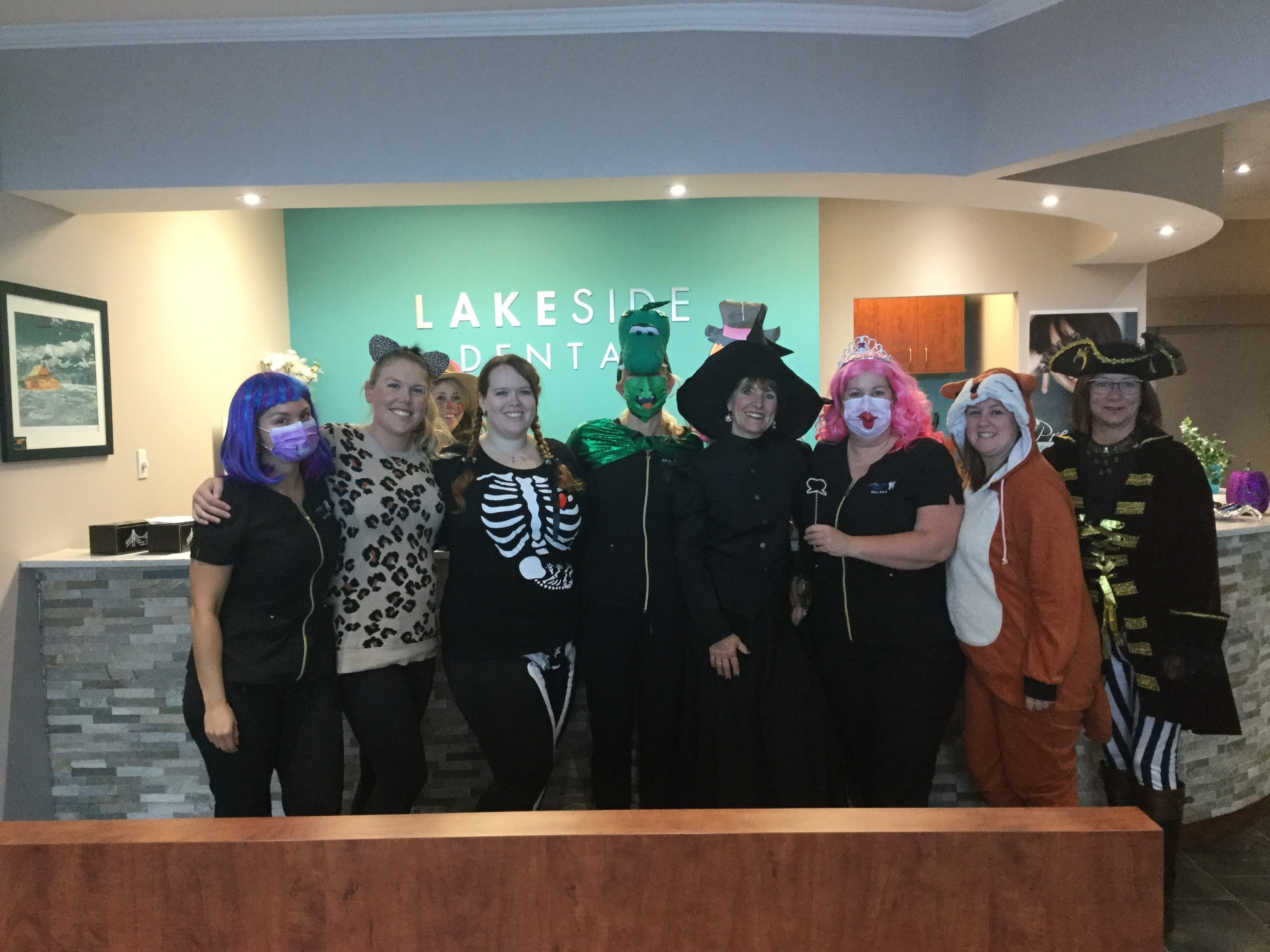 Happy Halloween from Lakeside Dental